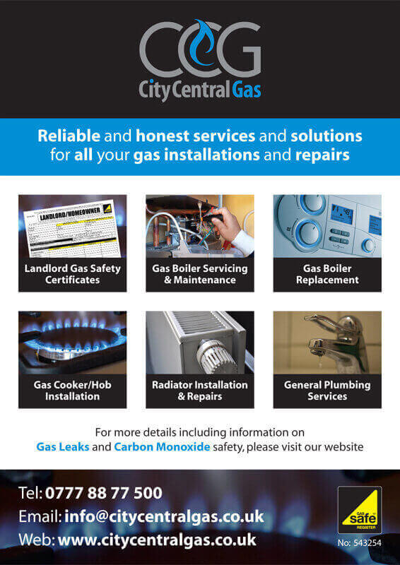 City Central Gas Flier Front