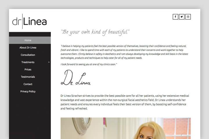 DrLineaRedwebsite