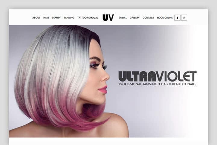 Ultravioletwebsite