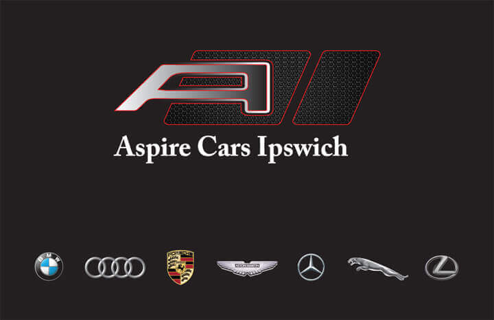 Aspire Cars Business Card front