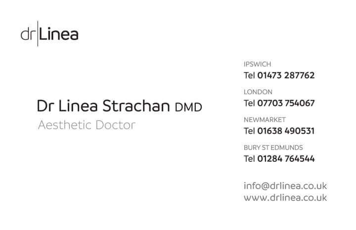 Dr Linea Business Card back